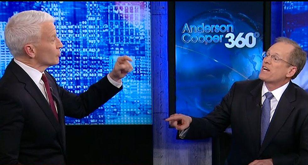 WATCH: CNN panel incredulous as Anderson Cooper grills tap-dancing Trump supporter Jack Kingston