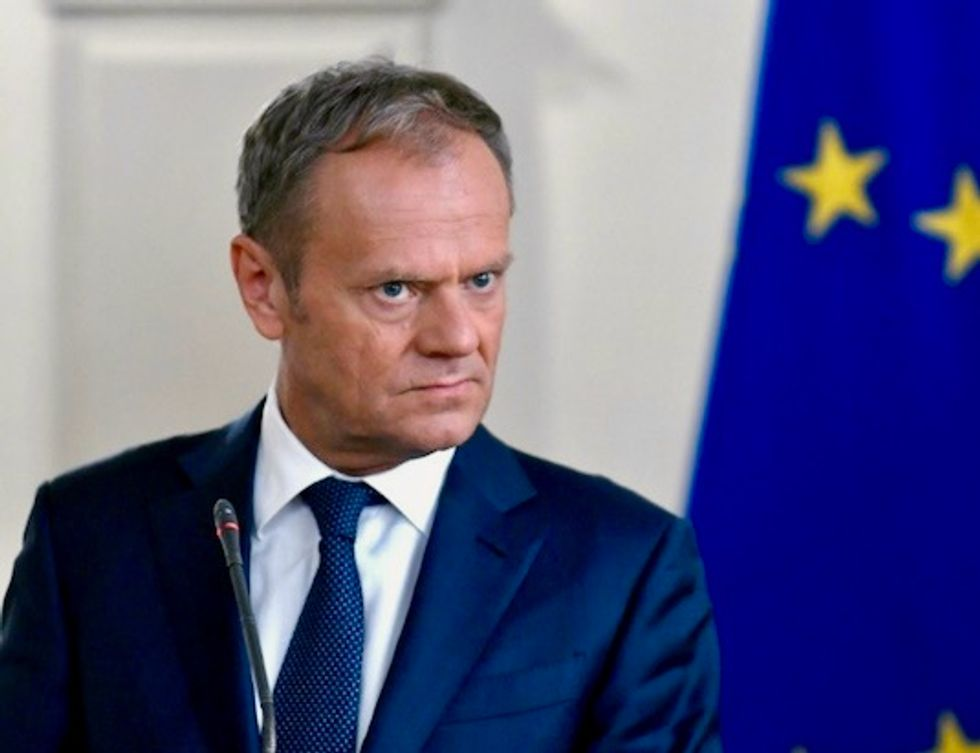 EU's Donald Tusk calls on China, US, Russia not to start trade wars