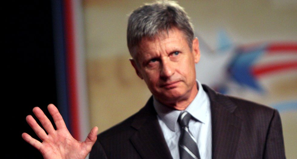 Gary Johnson wins Libertarian presidential nomination day after he's booed by delegates