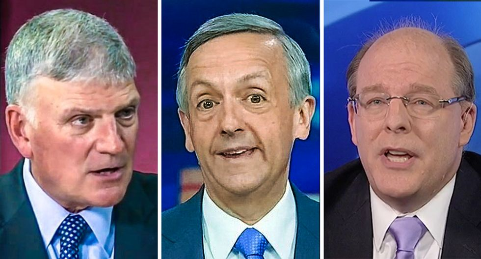 Ex-Bush speechwriter takes pastors Franklin Graham and Robert Jeffress to the woodshed for defending Trump's immorality
