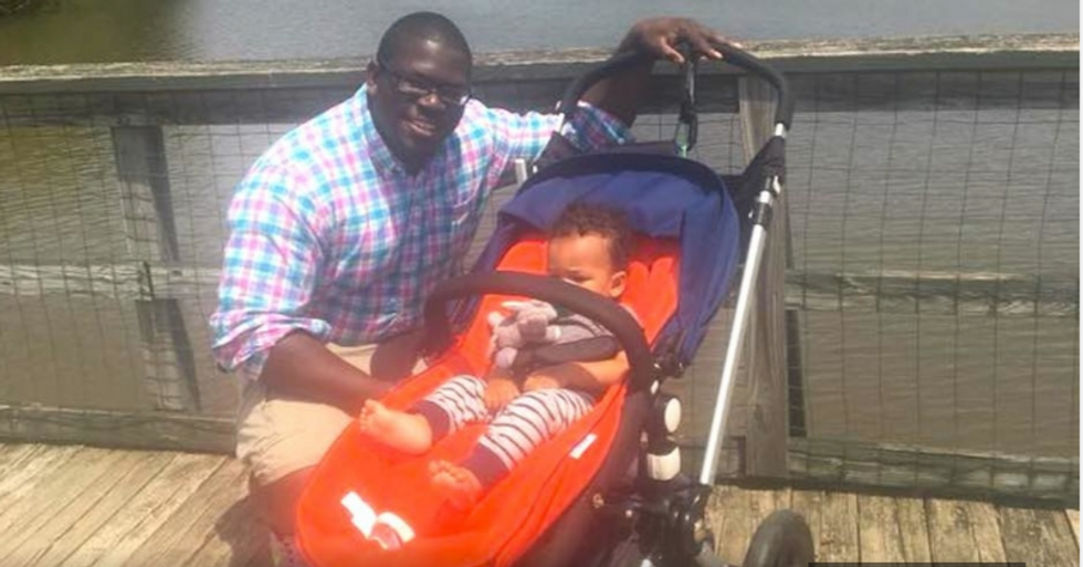 Black father stopped by officer after complaint of a 'suspicious man with a baby' in the park