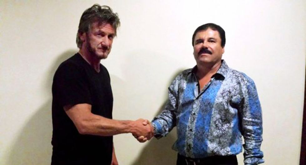Mexican authorities seek to question actor Sean Penn over secret meetings with drug lord 'El Chapo'
