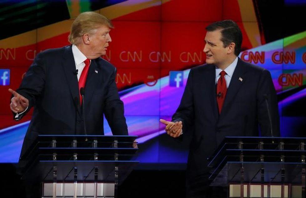 Citizen Cruz: Trump hammers away, U.S. Senate leader mum on eligibility