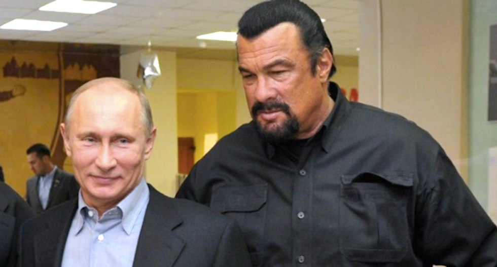 Steven Seagal offers to serve as governor of Russian region after Putin-approved candidate fails to win election