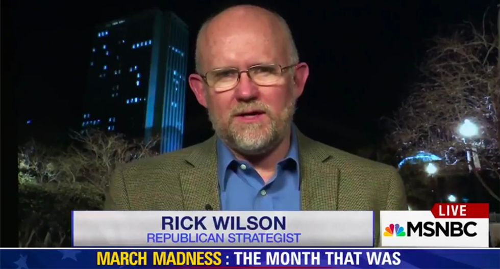 GOP strategist Rick Wilson: White House doomed to fail because 'there is no better version of Trump'