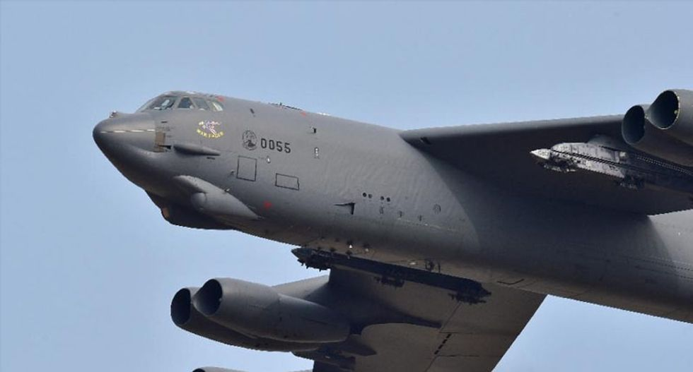 US flies B-52 bomber over South Korea as show of force against North