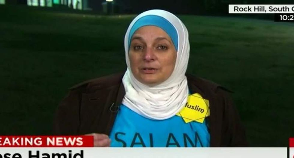 Muslim woman expelled from Trump rally: They asked me, 'Do you have a bomb?'