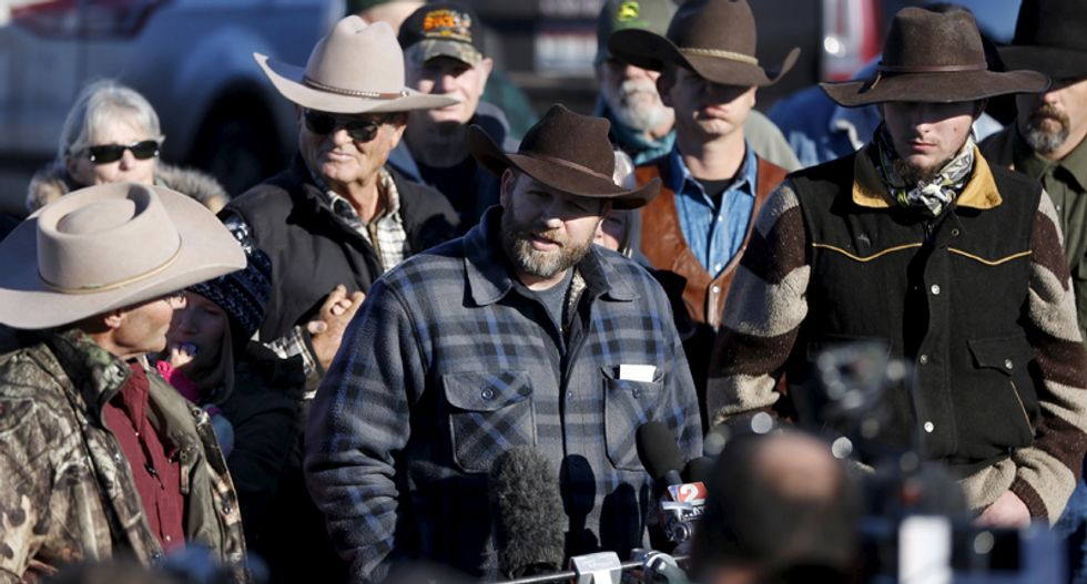 Authorities make first arrest in Bundy standoff by nabbing militant driving a federal vehicle to grocery store