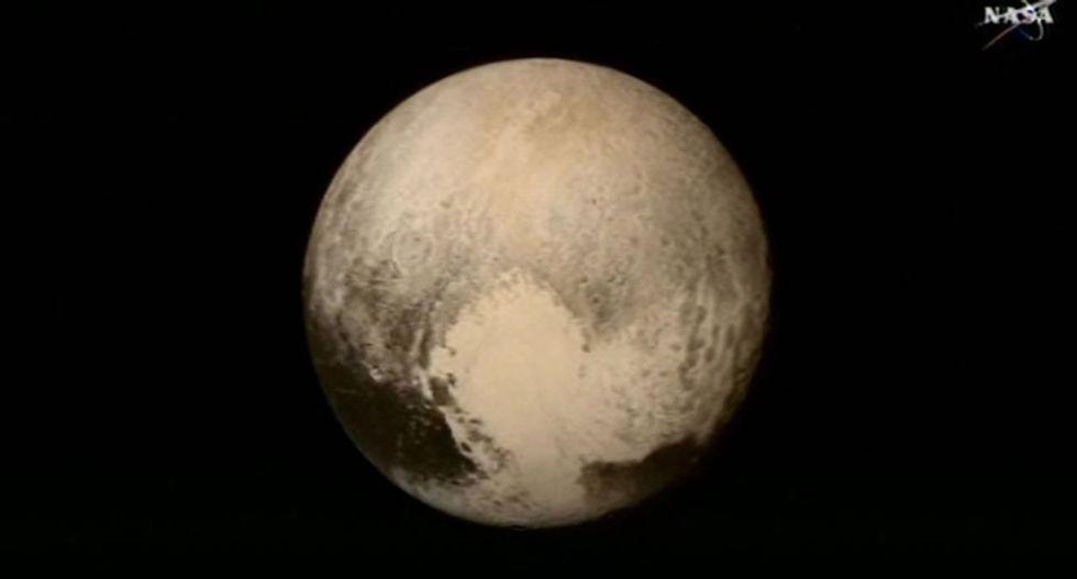 Underground ocean found on Pluto, likely slushy with ice