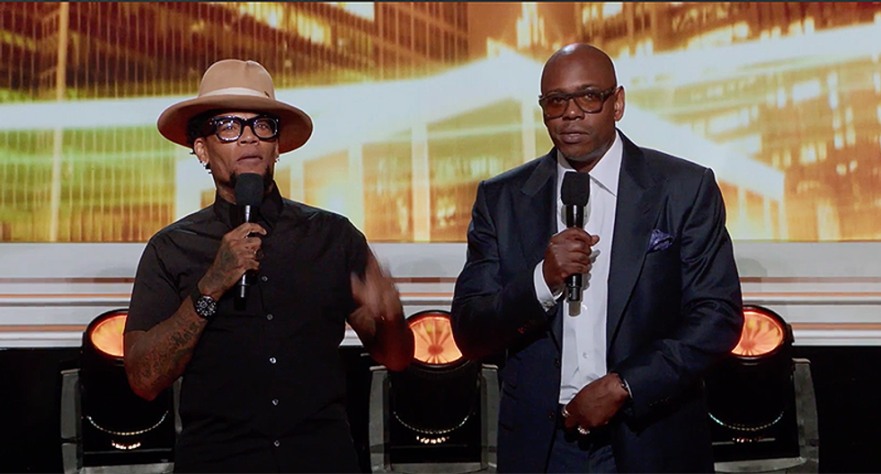 Dave Chappelle and DL Hughley hilariously trash Charlottesville white supremacists during 'Def Comedy Jam 25'