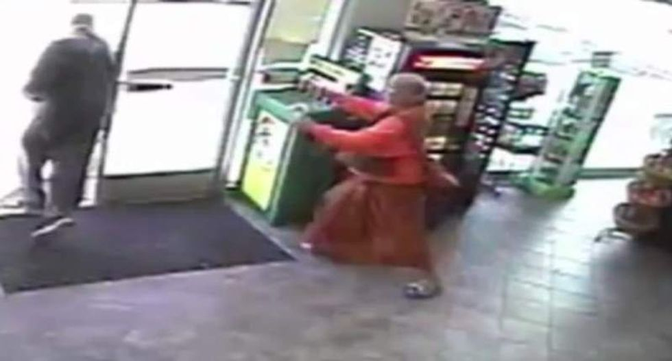 Buddhist monk robbed and attacked while buying lottery tickets inside Philly gas station