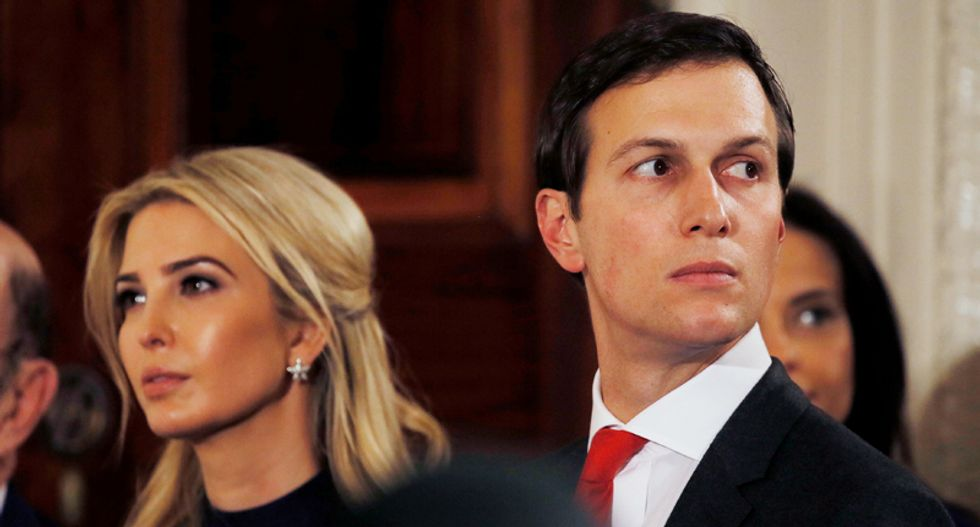 Ivanka and Jared are too ignorant about how the real world works to realize how incompetent they are: NYT columnist