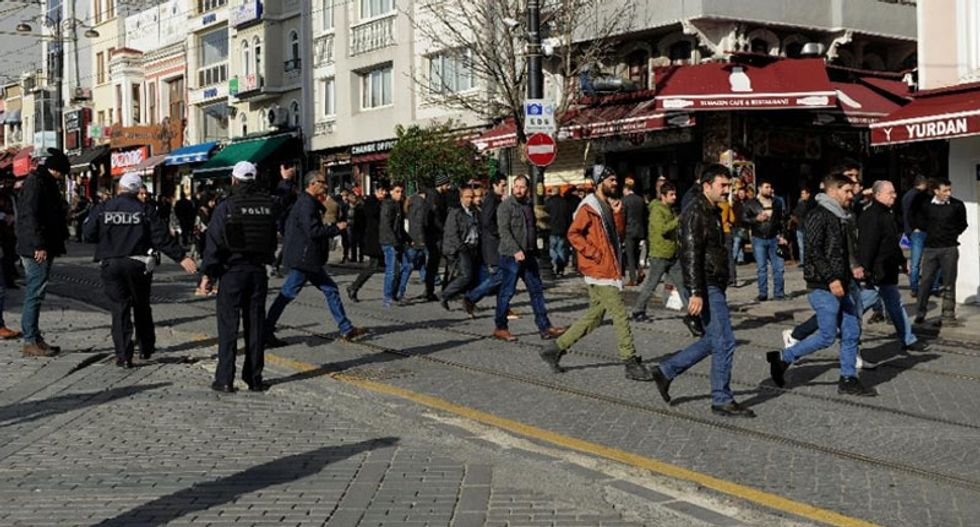 Ten dead after Syrian suicide bomber blows up in Istanbul's busiest tourist district