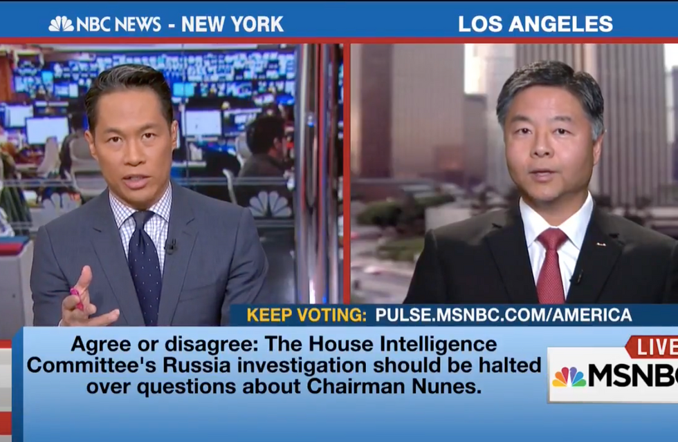 Ted Lieu: No vote on Gorsuch or other Trump nominees until we know whether presidency is legitimate