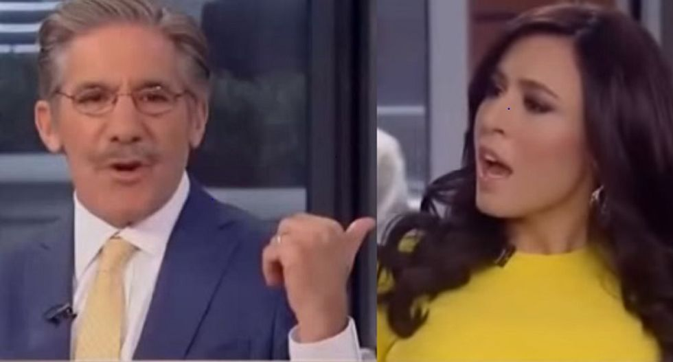Geraldo and Tantaros get into shouting match when she accuses refugees of being dangerous