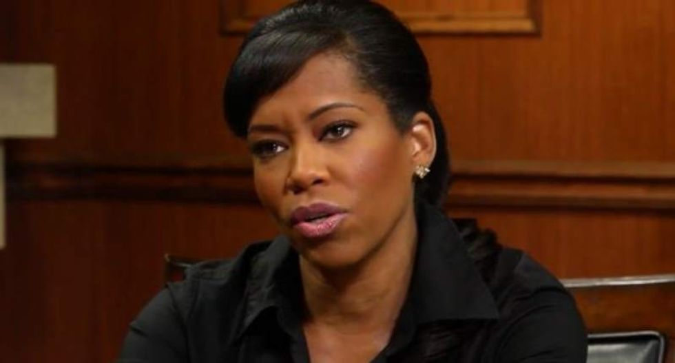 Actress Regina King: 'We are moving backwards' because the Internet has left us with virtual relationships