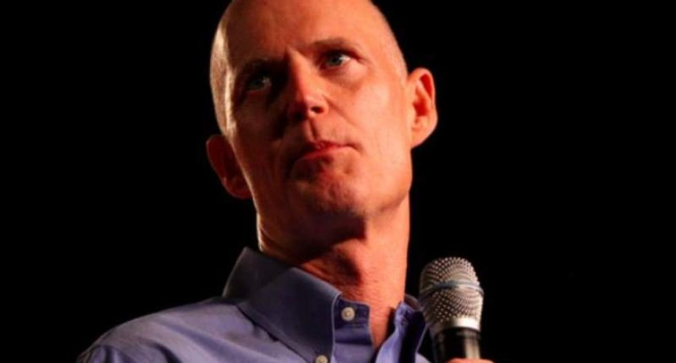 Florida governor launches bullying attack on woman who criticized him at Starbucks