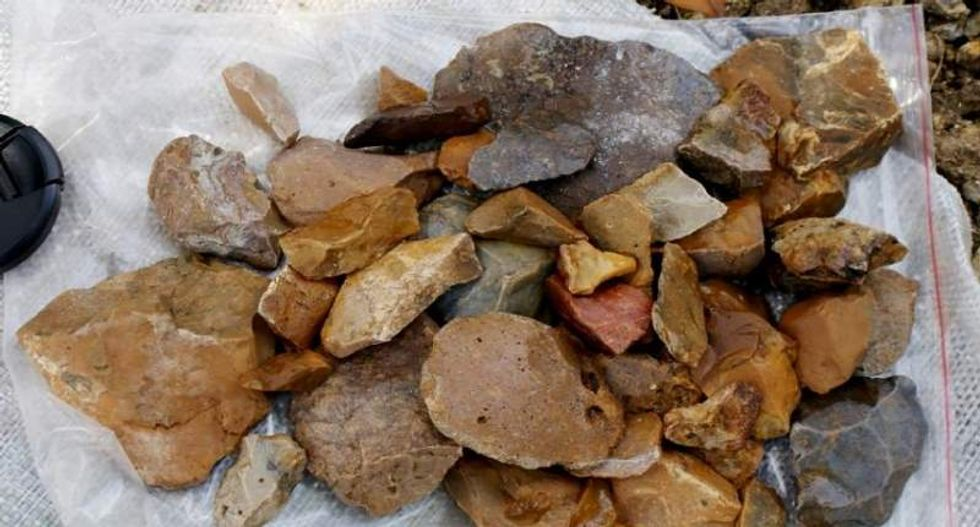 Stone-age tools dating back 118,000 years discovered -- but no sign of people who made them
