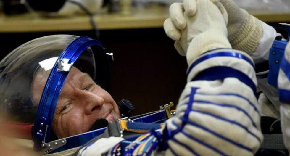 British astronaut prepares for his first-ever spacewalk outside International Space Station