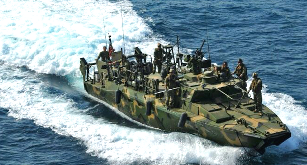 US sailors released from custody after Iran determines they entered waters unintentionally