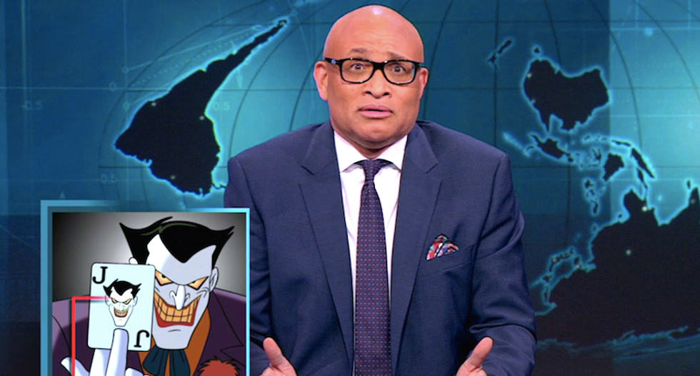 Larry Wilmore blasts officials who poisoned Flint to save $100: 'Who came up with this plan, the Joker?'