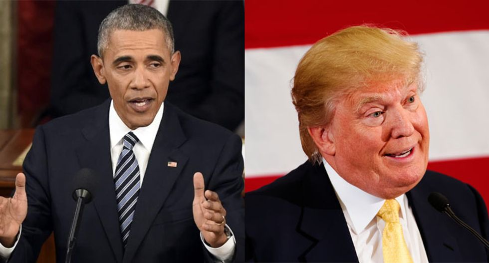 If Lesley Stahl and '60 Minutes' is too tough you can't handle a dictator: Obama hits Trump as weak