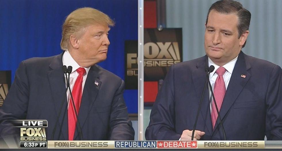 Dictator Trump or 'wacko bird' Cruz? Republicans face up to growing dilemma