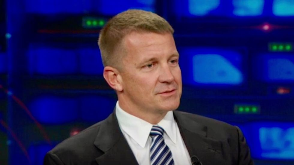 REVEALED: Trump ally Erik Prince discussed having sanctioned Russian fund make massive investments in US