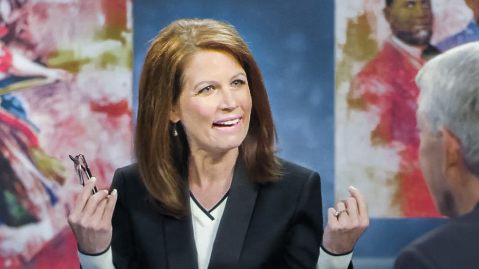 Michele Bachmann: Hate crime protection for LGBT people is 'tyranny' in 'God's form of government'