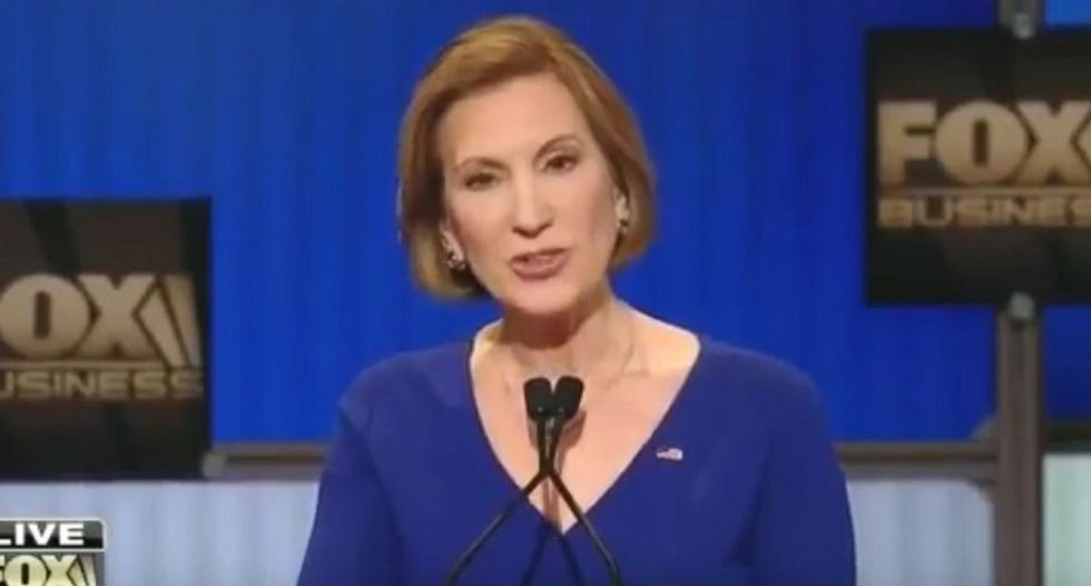 Republican Carly Fiorina calls for 'special prosecutor or independent commission' to investigate Russia