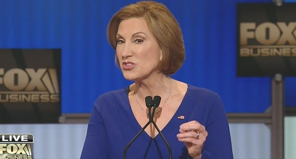Carly Fiorina just told a whopper about our support to the Middle East at the #GOPDebate