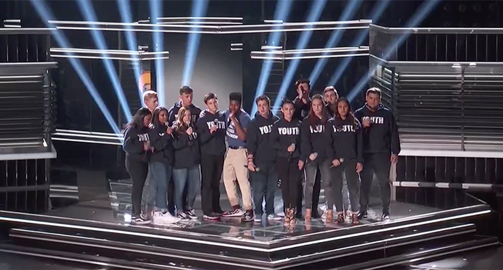 WATCH: Parkland student choir sings 'Youth' with Shawn Mendes and Khalid
