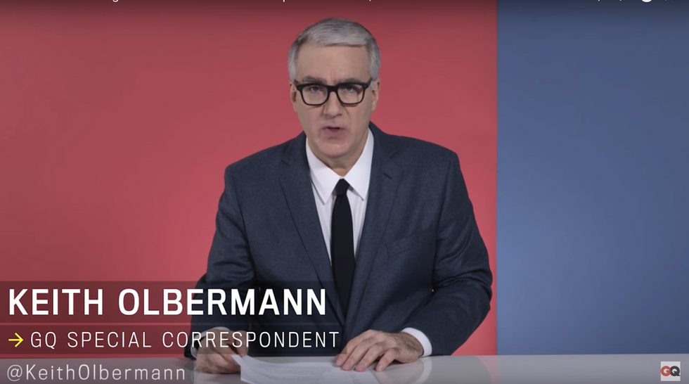Olbermann: Electoral College 'changes nothing' -- Trump still 'illegitimate' and 'unfit for the job'