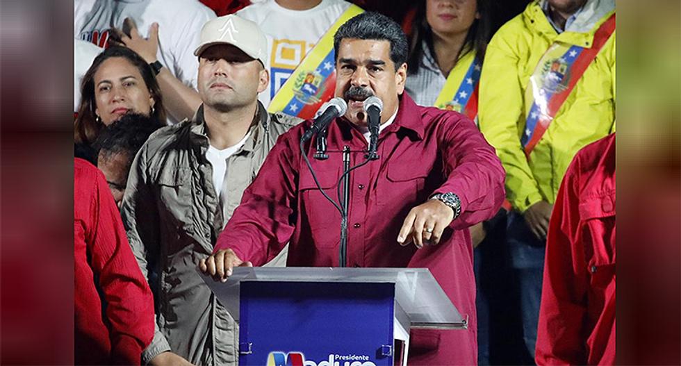 Venezuela's Nicolas Maduro re-elected amid outcry over vote