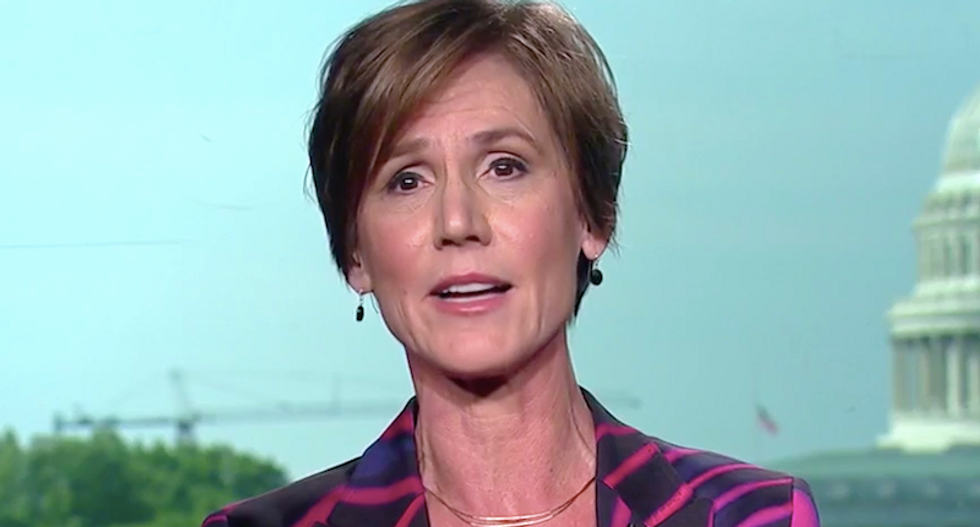 Sally Yates warns Trump's 'all-out assault on the rule of law' has already targeted Bob Mueller