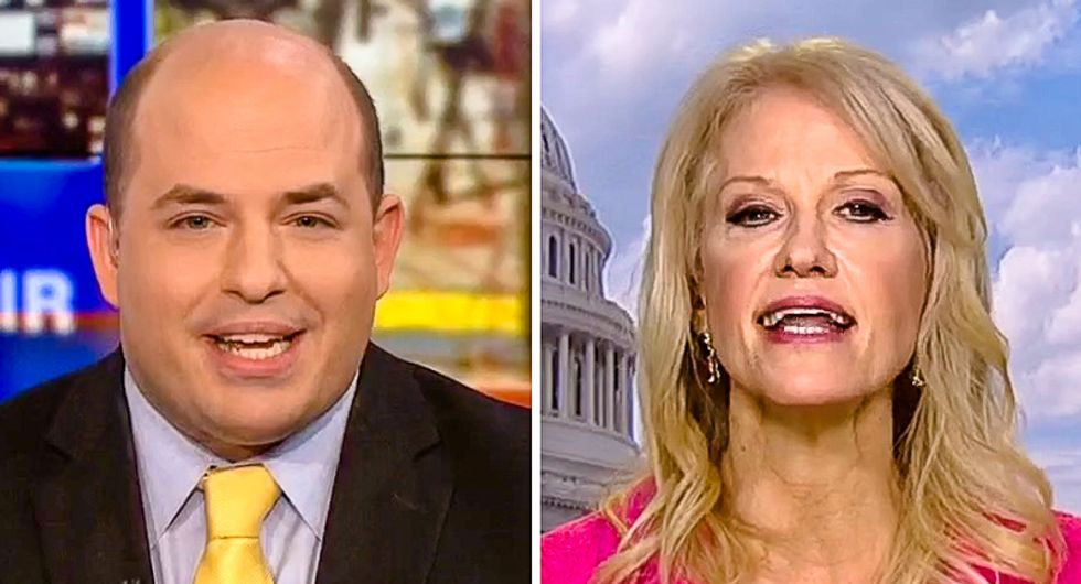 Kellyanne Conway defends Sean Hannity's deceitful show: It's 'unique content' that 'people can't find elsewhere'