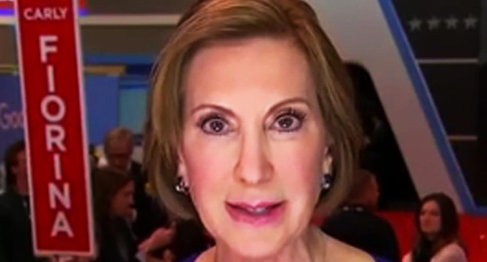 'The Sarah Palin of 2016': Twitter mercilessly mocks Carly Fiorina after Cruz's crushing Indiana loss