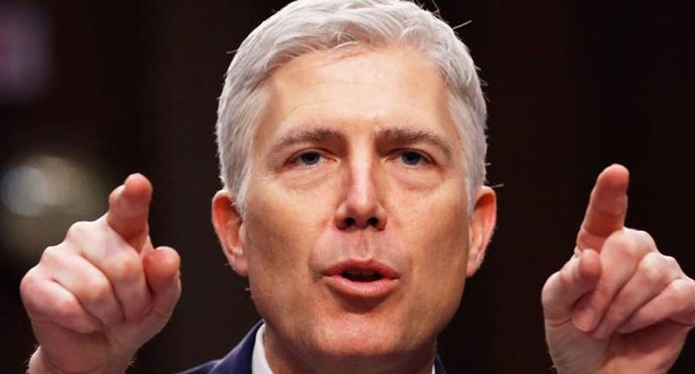 Justice Gorsuch says he does not share Republican 'cynicism' about government