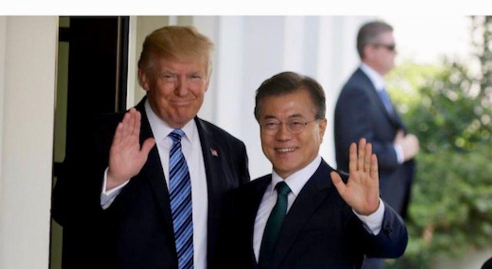 Trump to press South Korean leader ahead of summit