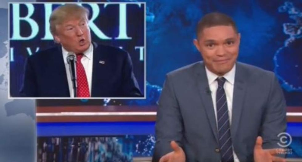 Trevor Noah skewers Donald Trump for trying to fool Christians with fake Bible quotes