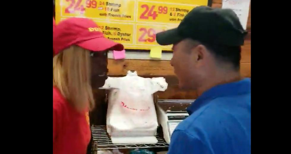 WATCH: Korean restaurant owner in Georgia slaps black employee in the face over $8 refund