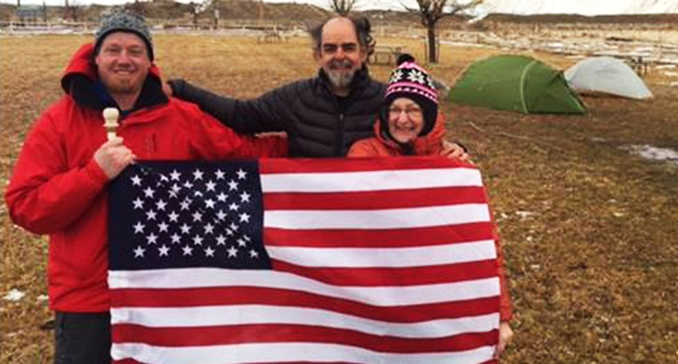 Occupy this: Anti-Bundy couple vows to camp outside Oregon refuge and torment militants until they leave