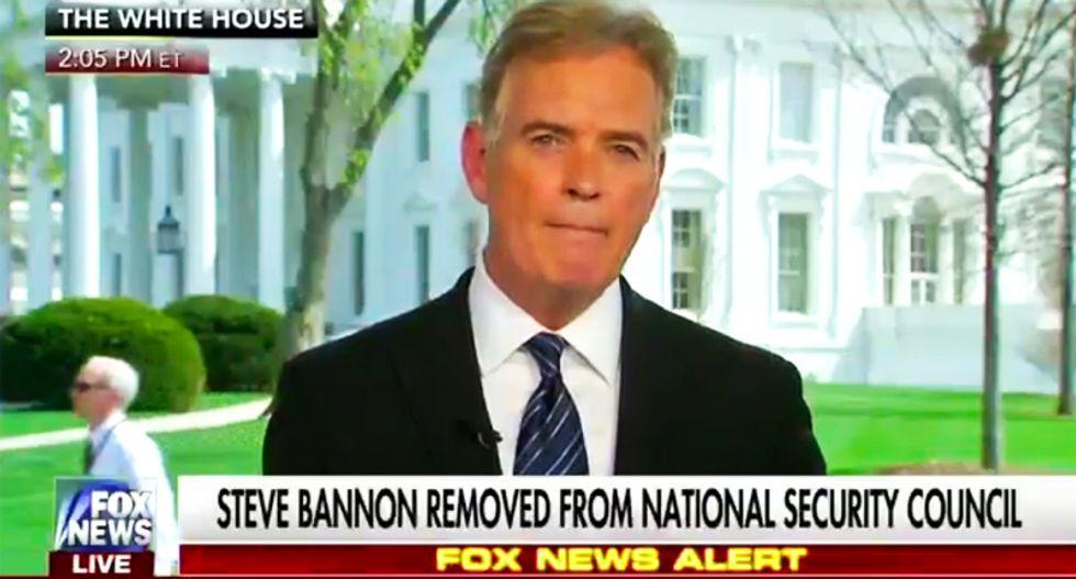 President Trump resented ousted Steve Bannon for 'hogging the spotlight': Fox News' John Roberts