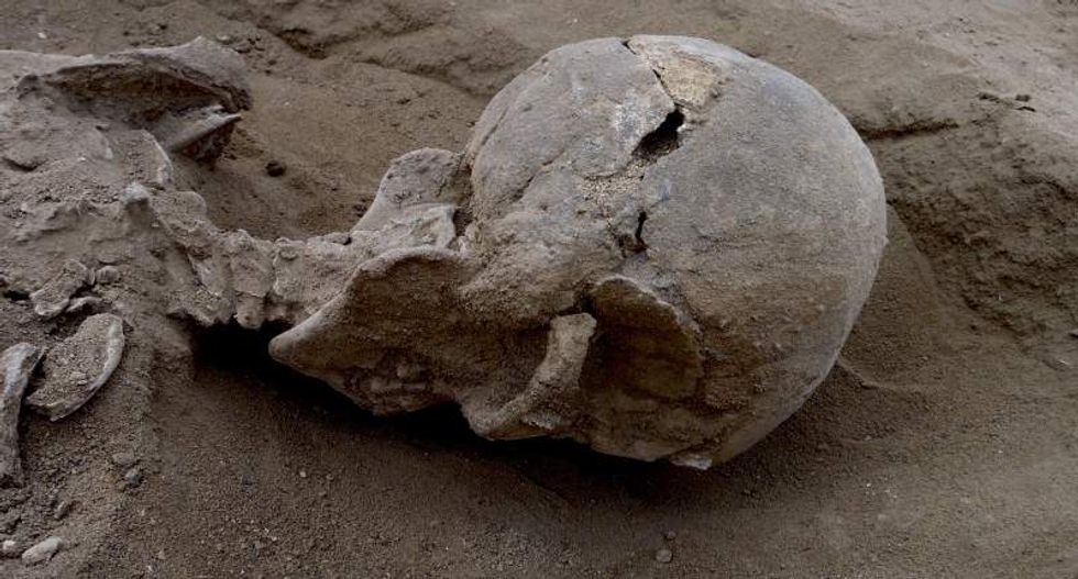 The earliest warriors: Human remains discovered from 10,000-year-old tribal battle