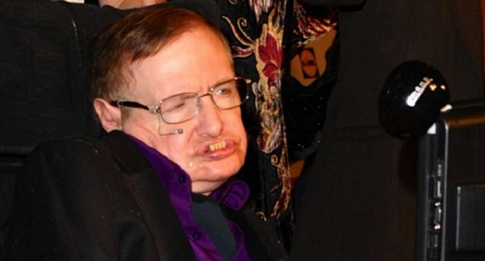 Stephen Hawking warns about artificial intelligence in the near future: 'We're not getting any less greedy or stupid'
