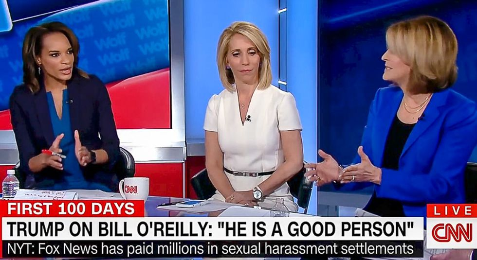 'You know nothing': CNN panel of women eviscerates Donald Trump for smearing Bill O'Reilly's victims