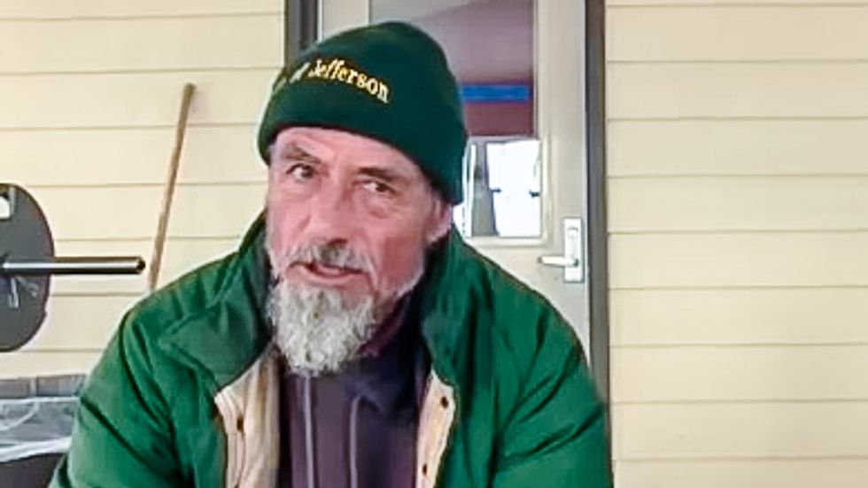 Revealed: Oregon militant was convicted of murdering father -- but says he can legally carry a gun