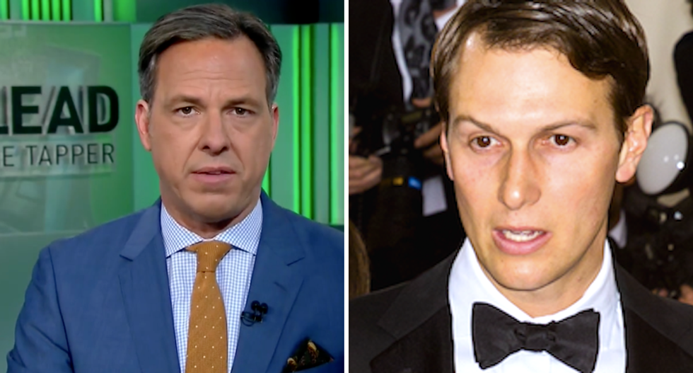 'Secretary of Everything': Jake Tapper ridicules Trump for appointing 'Vice President Jared Kushner'