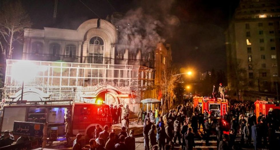 Saudi accuses Iran of sowing 'sedition, unrest, chaos'