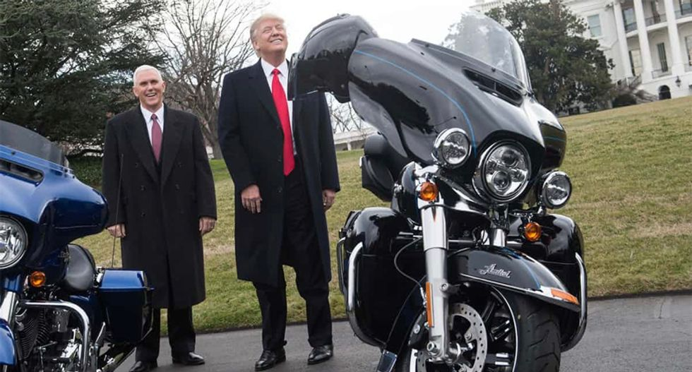 Trump's tariffs completely wiped out Harley-Davidson profits last quarter
